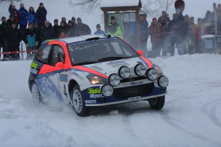taki trochę staroć - Carlos Sainz w Rajdzie Szwecji (nie pamiętam teraz, który to był rok)