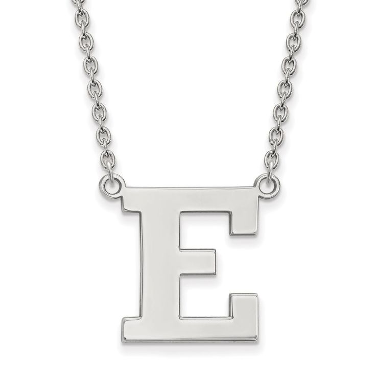 14kw LogoArt Eastern Michigan University Pendant with Necklace