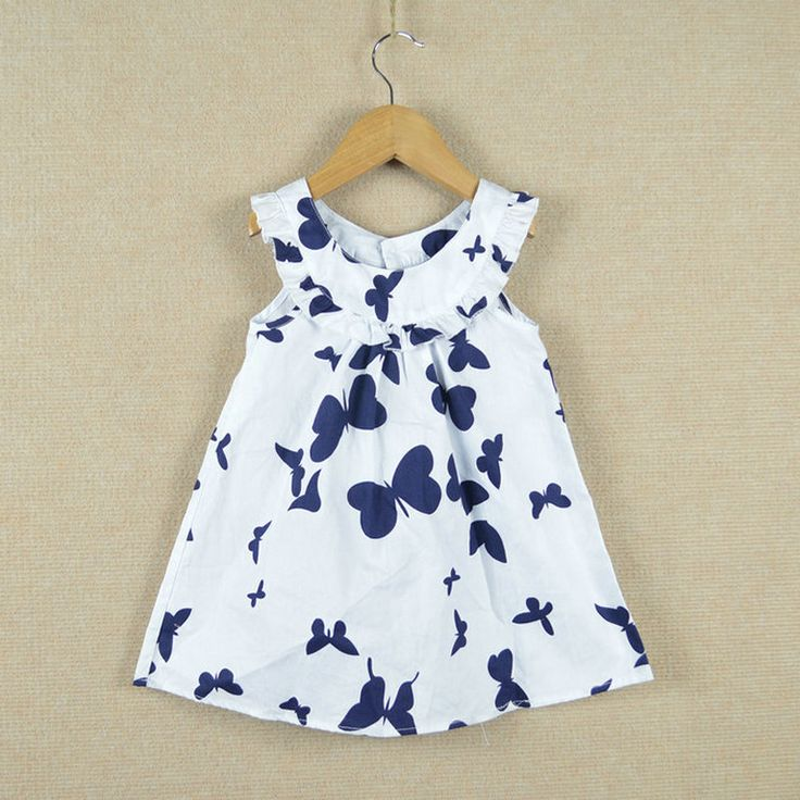 Children's Infant toddler clothing summer high-quality girl's dress size 2-8