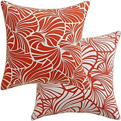 Japanese Fans Outdoor Cushion