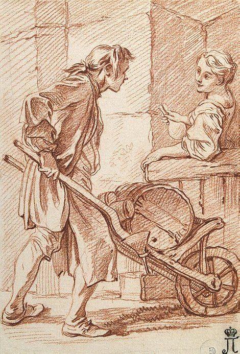 François Boucher, vinegar seller on ArtStack #francois-boucher #art