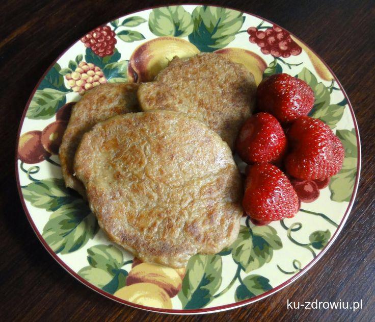 Ze smakiem KU ZDROWIU: Placki owsiane (wegańskie, bez cukru i mąki)
