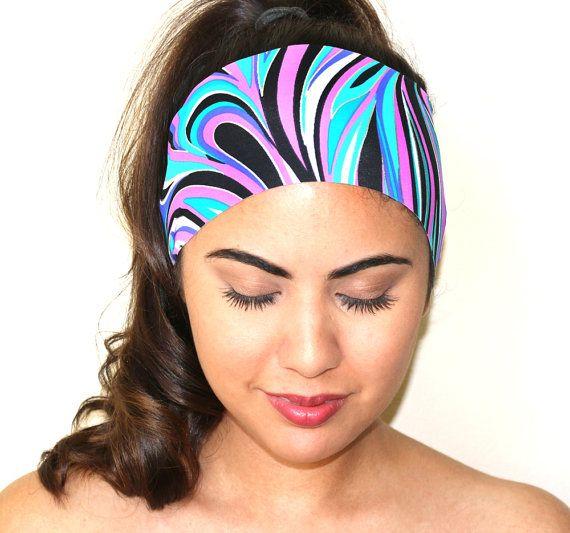 NEW Headbands for Women  Workout Headbands   Yoga by wrapsbyrenzel