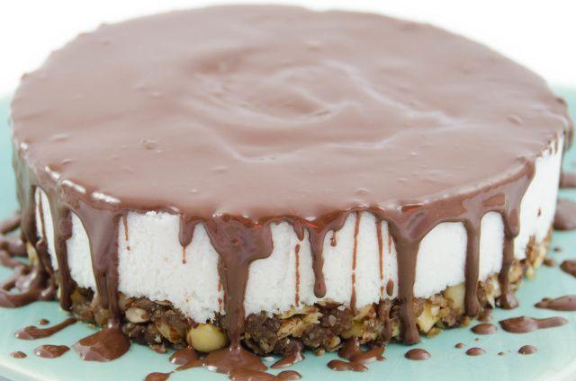 Rohveganer Kokos Kuchen