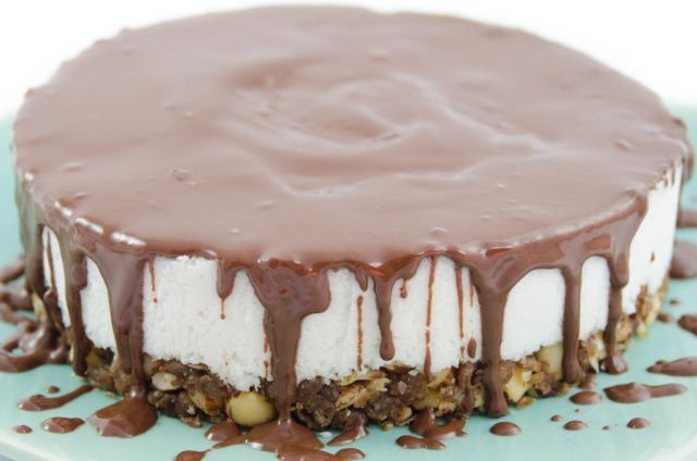 Rohveganer Kokos Kuchen (Raw Vegan Recipes)
