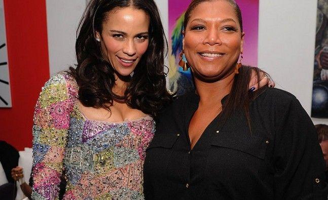 Paula Patton and Queen Latifah spark lesbian couple rumours