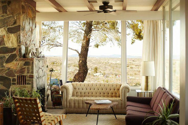 Rustic Joshua Tree ranch house