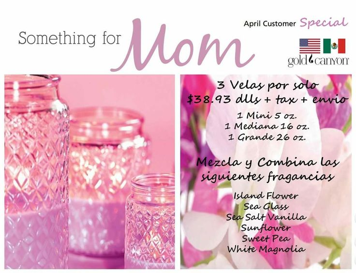 Gold Canyon Candles april special