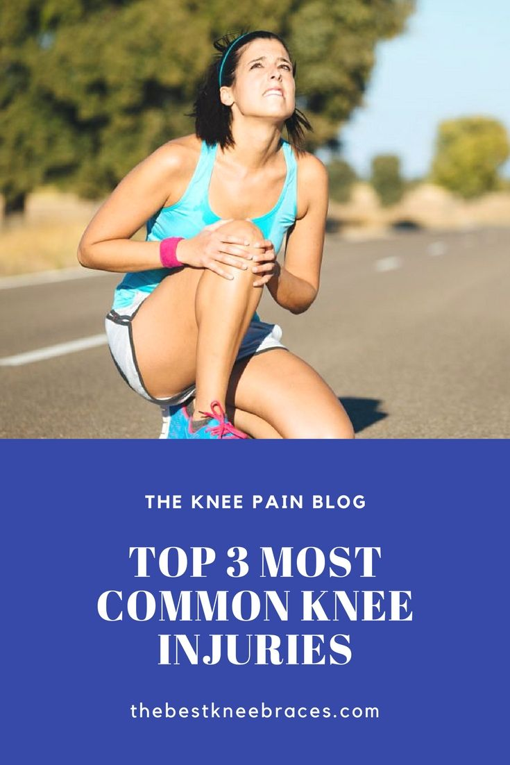 Learn more about the most common knee injuries. This extra knowledge might help save your knees one day! #knee #pain #injury