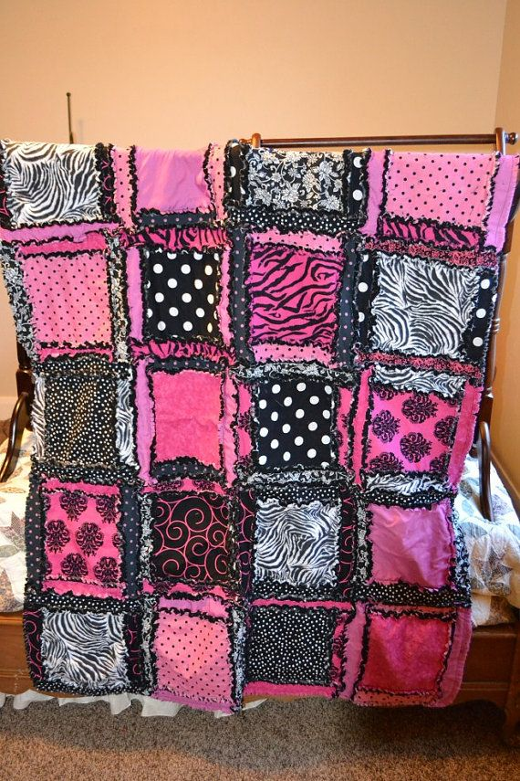 love this.!!!: Girls Quilts, Backsplash Ideas, Blankets Zebras, Baby Quilts, Rag Quilts, Crafty Things, Colors Schemes, Baby Blankets, Kitchens Backsplash