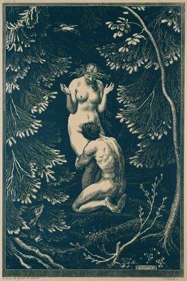 Elisandre - L'Oeuvre au Noir: Le Dieu Pan Parle d'Amour....par Gérard de Nerval