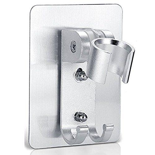 Alotm Ajustable Rotatable Handheld Aluminum Bathroom Shower Head Holder Bracket Wall Mount with Hanger Hook #Alotm #Ajustable #Rotatable #Handheld #Aluminum #Bathroom #Shower #Head #Holder #Bracket #Wall #Mount #with #Hanger #Hook