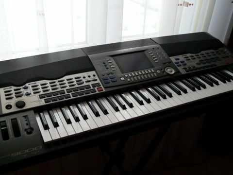 Yamaha PSR-9000 - Time of my life (Instrumental) - B. Krzemiński