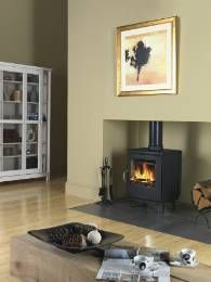 The Scan Andersen 8-2 is available with a set of short legs or convector sides. The 8 - 2 has a 7 kw output.