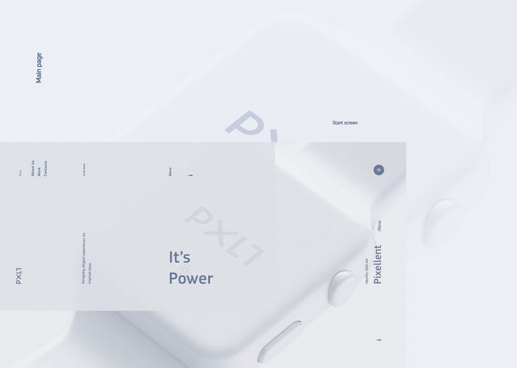 Web site for Creative Agency Pxlt