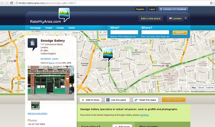 http://RateMyArea.com is a unique place where users share their opinions on favorite spots with friends, family and people living in their area. Additionally, the portal is also dealing with selling vouchers for local services. Being a product of Locate Online Ltd it is one the largest online platforms of this type in Ireland. Our team had a real pleasure to help with the web app upgrading and developing as well as with adding new features (RoR, jQuery, mobile HTML)