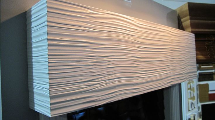 Paintable Textured Wood Cornice Box Valances Pinterest
