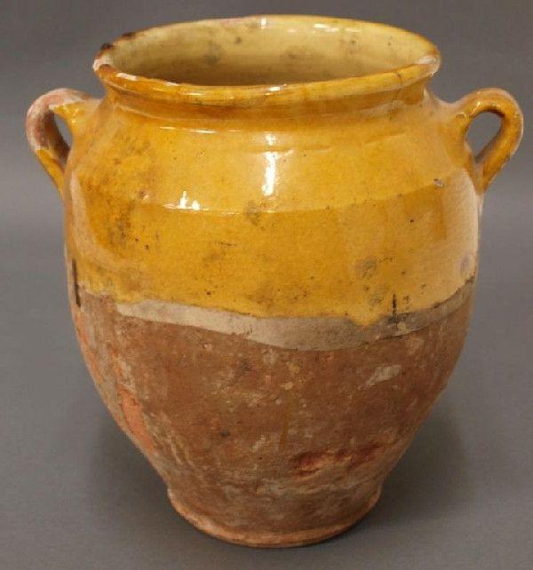 vase d' anduze jaune