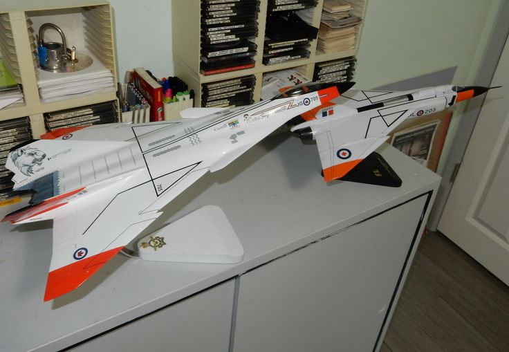 My AVRO Arrow Models, New version and Original