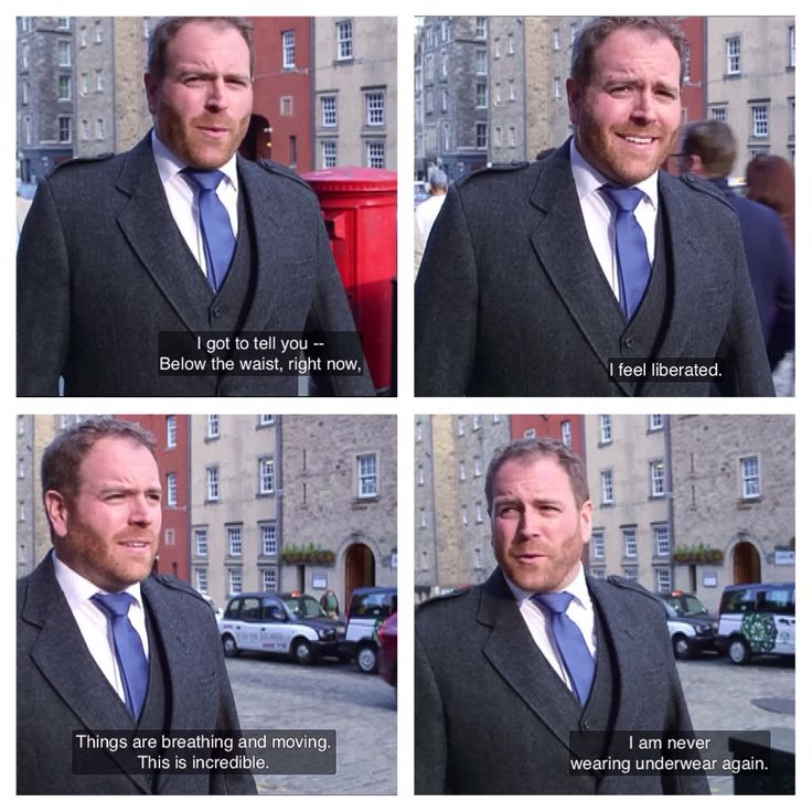 Josh Gates and the joy of kilts, The Quest for King Authur, Expedition Unknown (screen cap)