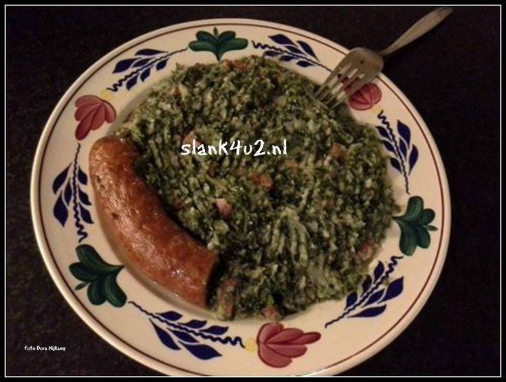 Boerenkool stamppot met worst en spekjes Koolhydraatarm, glutenvrij, ei-vrij, lactosevrij, vegetarisch te maken ( zonder spekjes en worst). Geschikt voor de afvalfase. Het is weer kouder weer en we hebben behoefte aan voedzame en vullende maaltijden. De r in de maand zorgt toch altijd voor veranderende eetgewoonten. In plaats van salades en gegrild vlees willen we in dit jaargetijde warme maaltijden die ons voeden tegen de kou buiten en en warm gevoel van binnen geven. …