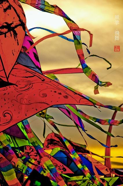 dance of the kitesKite Tail, Breeze Winddanc, Fly Kite, Fun, Colors 1, Catching, Dance, Colours, Balloons Kite Parachute