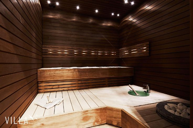 Moderni sauna omalla vesipisteellä - Etuovi.com Ideat & vinkit