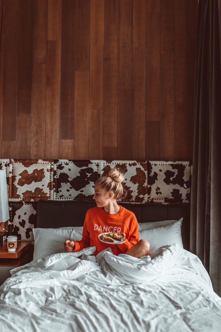 Breakfast in Bed - Cosy Sweaters - Messy Bun