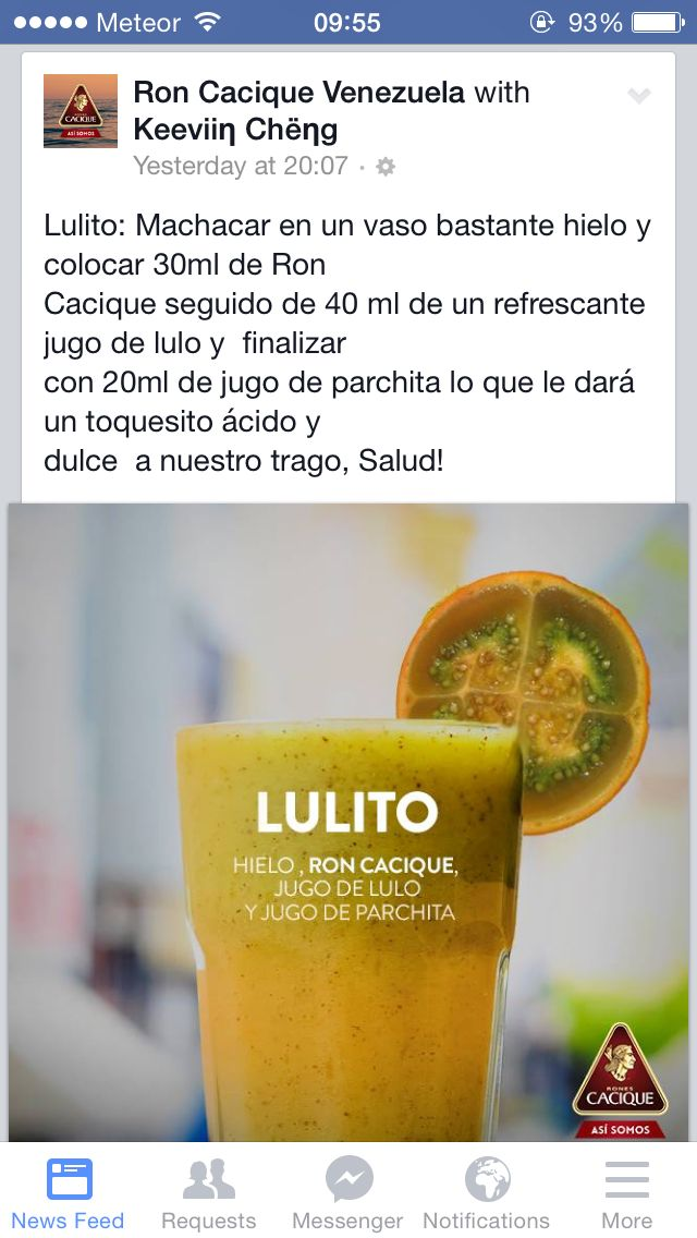 shot #lulito #drink
