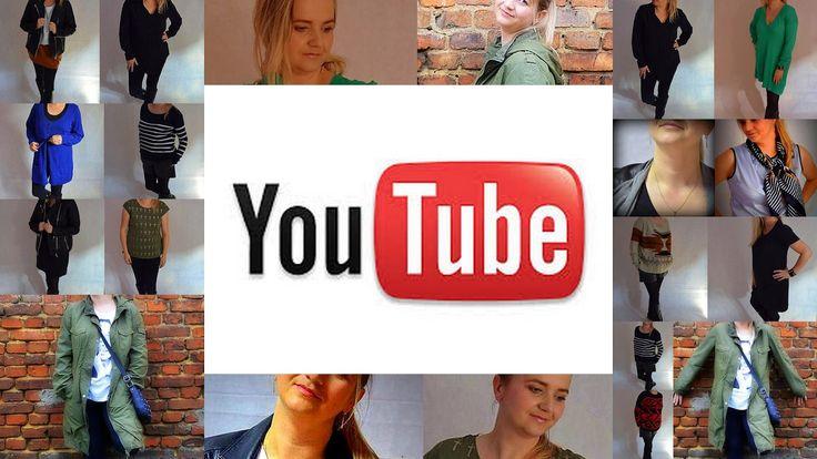 Fashion Inspiration XL: Teraz możesz znaleźć mnie na YouTube !