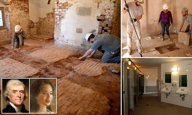 The room, unearthed at Thomas Jefferson's Monticello estate in Charlotesville, Virgina, went unnoticed for decades. It didn't have any windows and was next to Jefferson's room.
