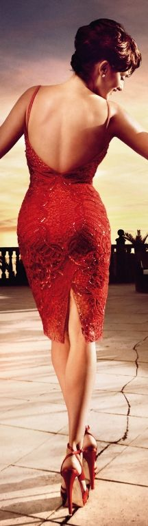 Penelope Cruz for Campari Calendar 2013