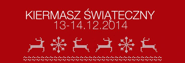 Informujemy,że objęliśmy patronat nad tegoroczną edycją Kiermaszu Świątecznego https://www.facebook.com/events/1504947383089664