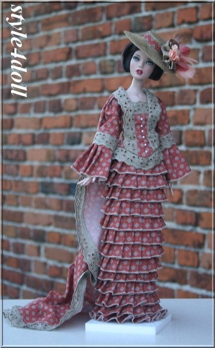 """style4doll - outfit for  Deja Vu  16"""" Tonner .."""