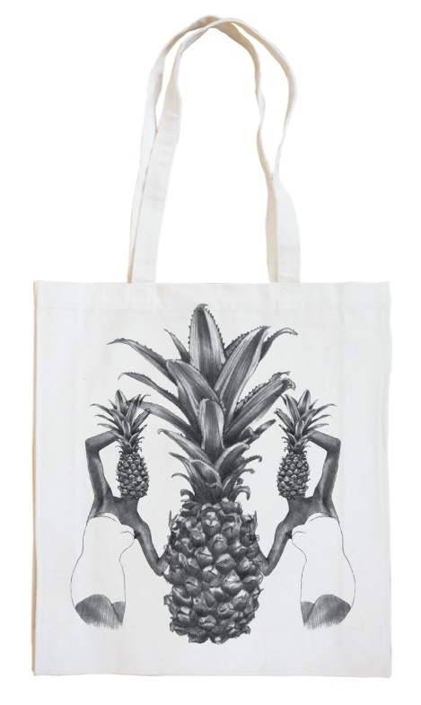 Borders & Frontiers Pineapple Tote