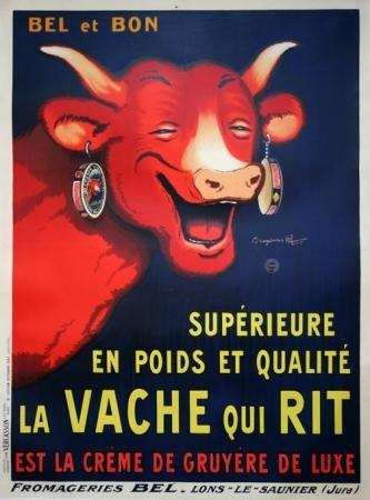 Affiche La vache qui rit