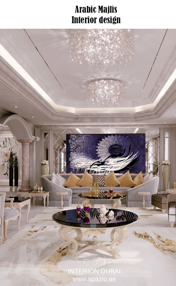 Arabic Majlis Interior Design In Dubai Uae 2020 Luxury House Interior Design Interior Design Dubai Luxury Home Decor