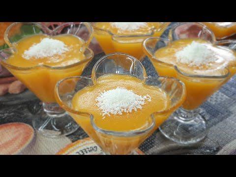 مهلبية قمر الدين بطعم المشمش الطبيعي Youtube Desserts Bowl Punch Bowl
