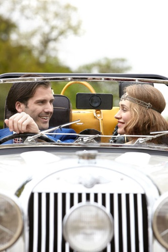 see if can rent a vintage car with driver for a couple of hours