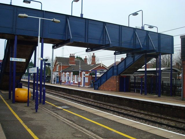Leagrave Railway Station (LEA) in Leagrave