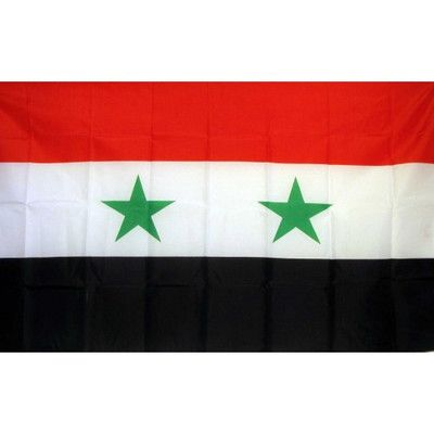 NeoPlex Syria Country Traditional Flag
