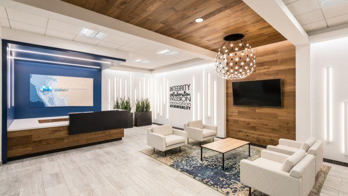 Marsh Mclennan Offices San Diego Office Snapshots Modern Office Space Design Office Design