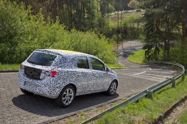 The next Vauxhall Corsa? #car #news