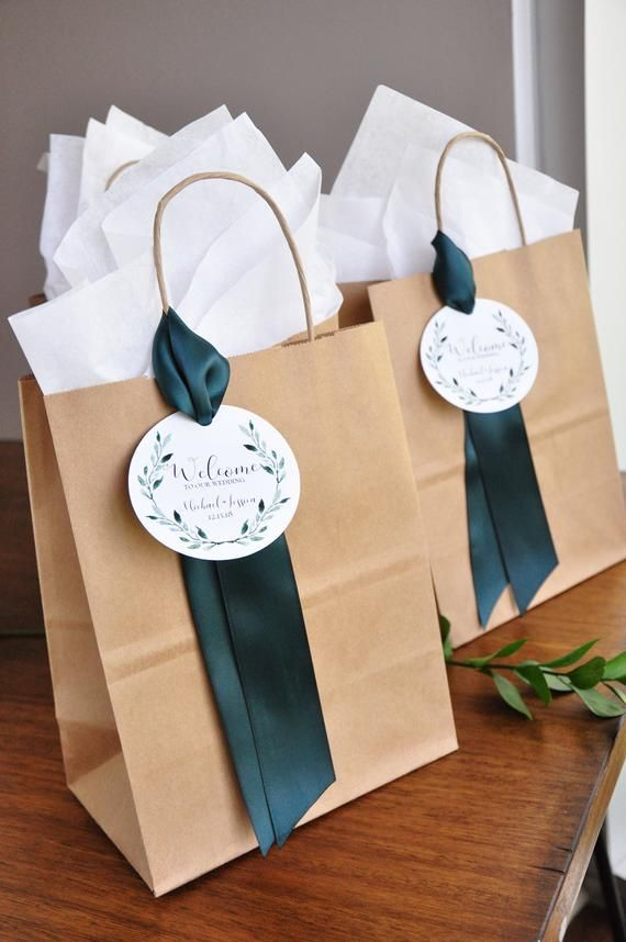Wedding Welcome Bags. (Qty. 1). Hotel Wedding Welcome Bag. Welcome Gift Bag. Br8KFT
