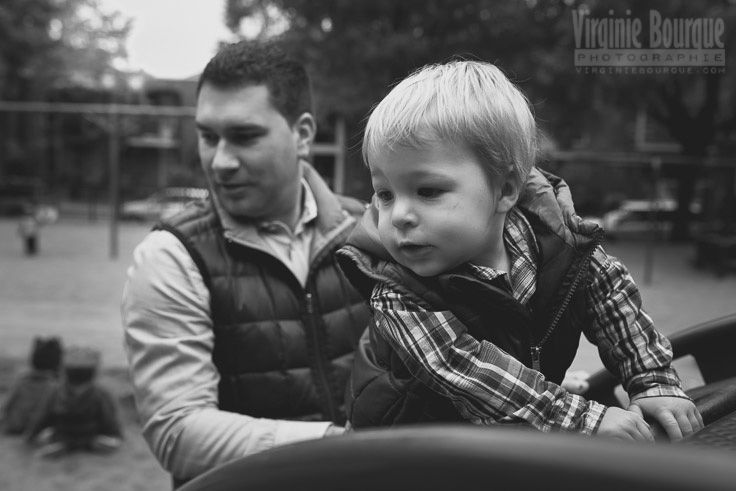 Session in the park, fall season 2014 Montreal, Quebec www.virginiebourque.com www.facebook.com/virginiebourquephoto #family #lifestyle #photography #photographer #baby #child #boy #mother    #mom #dad #father #fall #park #autumn #leaves #colors #blackandwhite #b&w #fatherandson