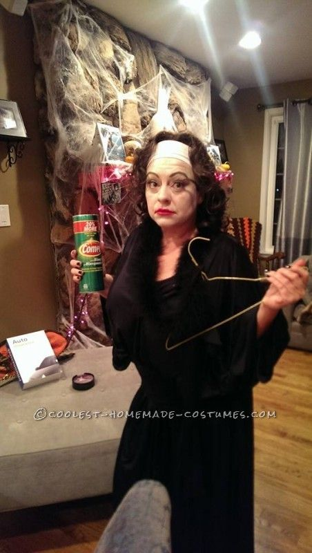 Mommie Dearest Costume (No Wire Hangers Ever!) - 3