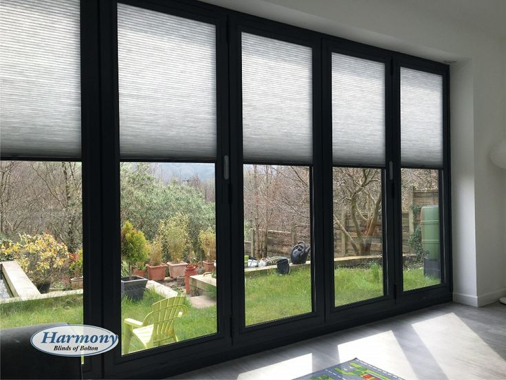 Brand new Anthracite Grey Perfect Fit Blinds compliment the most popular new shade of Bi-fold doors and Conservatories.