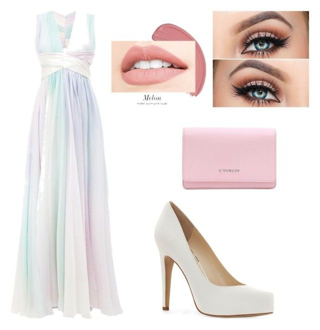 """Pastel prom"" by tessa-hewitt on Polyvore featuring Zuhair Murad, Jessica Simpson and Givenchy"