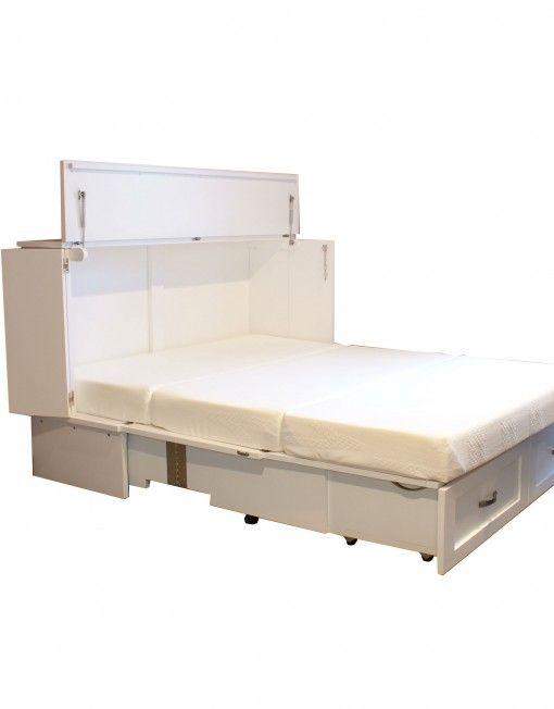 custom-cabinet-bed-in-white-open