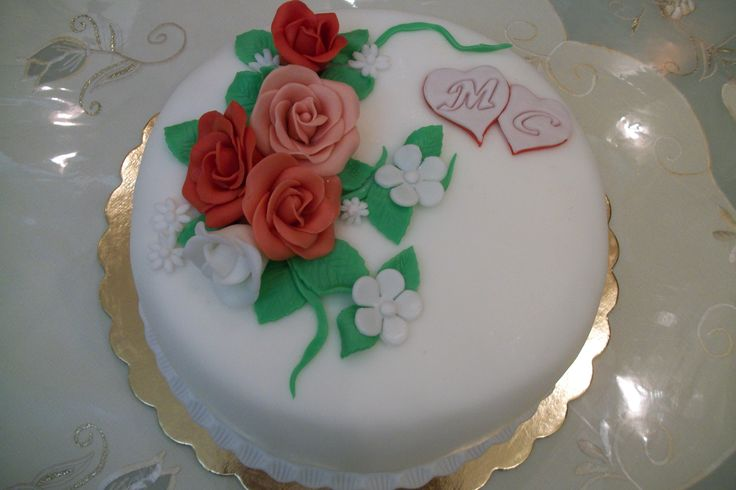 Torta anniversario di matrimonio/ cake wedding anniversary